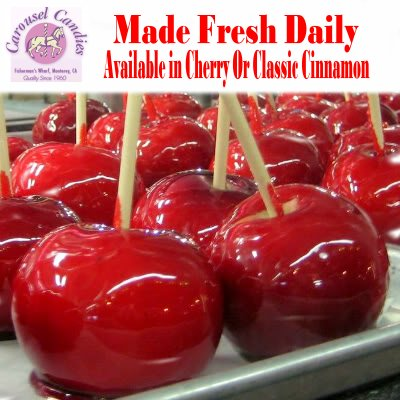 Red Cinnamon Apples