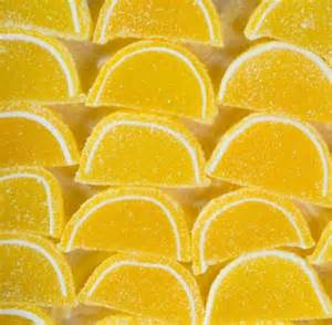 Fruit Sliced Gels - Lemon