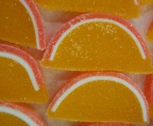Fruit Sliced Gels - Peach