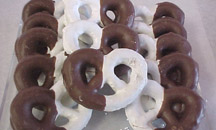 Milk & White Chocolate Pretzels