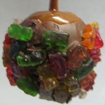 Milk Chocolate Gummy Bear Apples