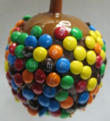 Milk Chocolate M&M Apples