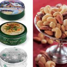 Roasted Nut Holiday Tins